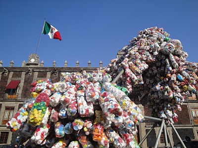 Escultura en espacio público Df - Víctor Castro